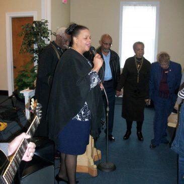 Rev. Berta Newsome-Jones - Co Pastor Living Stones Ministries and Worship Center